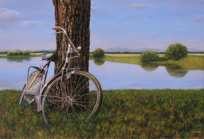 Bici In Campagna by Francesco Capello