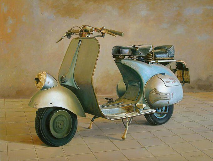 Vespa by Francesco Capello