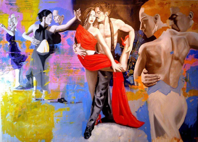 Alguien Le Dice Al Tango by Massimo Pennacchini