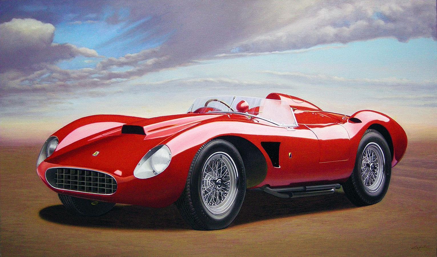 1957 Ferrari 625 Spider by Francesco Capello