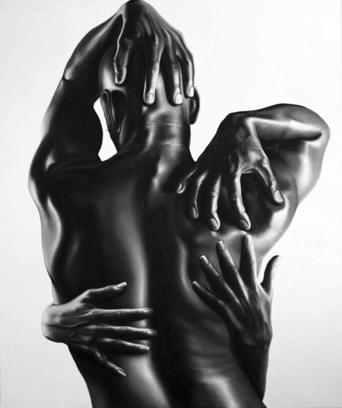Black Man Back Body by Tommaso Arscone