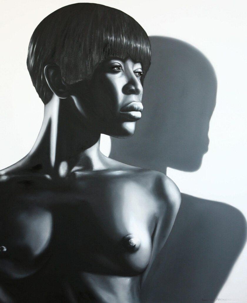 Black Woman Front Body by Tommaso Arscone