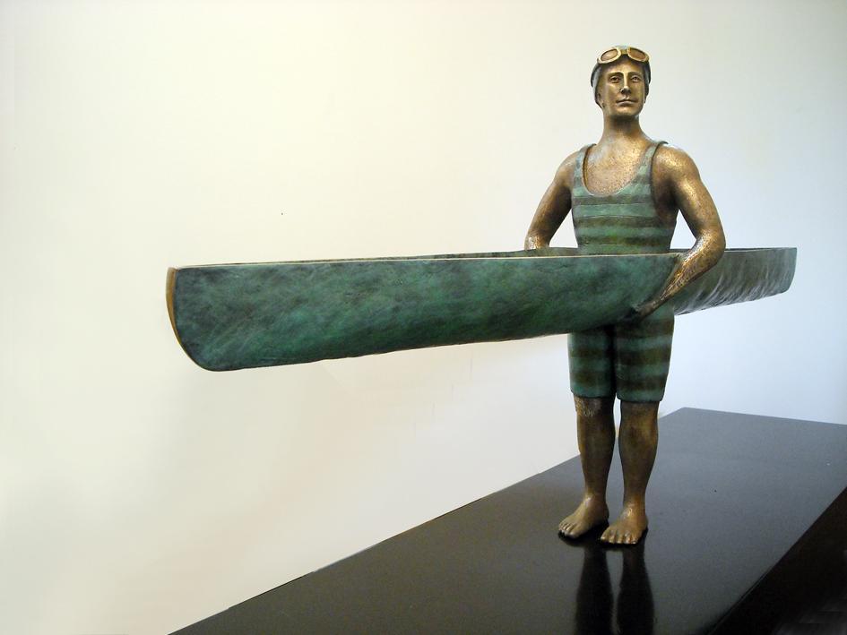 Canoa Man by Ignacio Gana