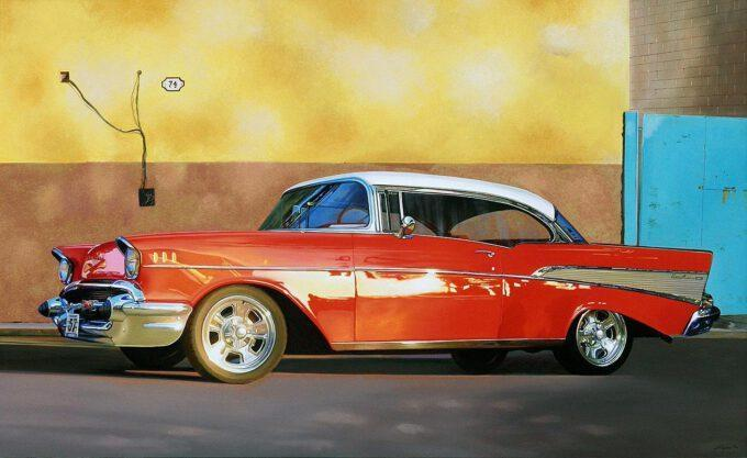 Chevy Bel Air by Francesco Capello