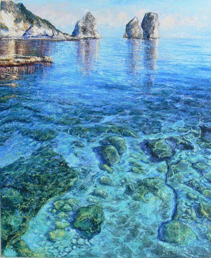 Faraglioni by Amedeo Cianci