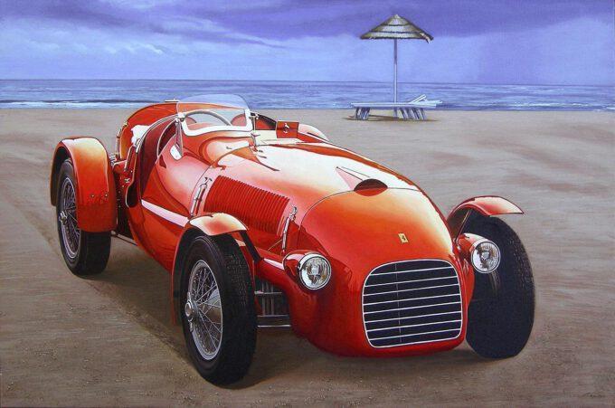 Ferrari 166 Spider Corsa by Francesco Capello