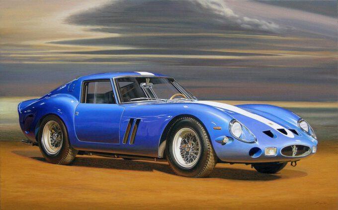 Ferrari 250 Gto 1962 by Francesco Capello