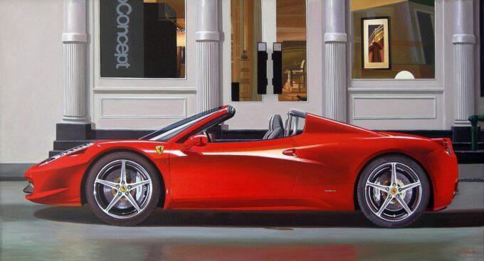 Ferrari 458 Spider by Francesco Capello