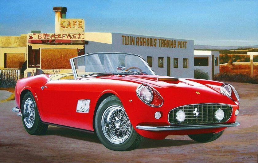 Ferrari California by Francesco Capello