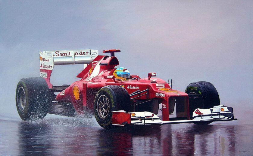 Ferrari F1 by Francesco Capello