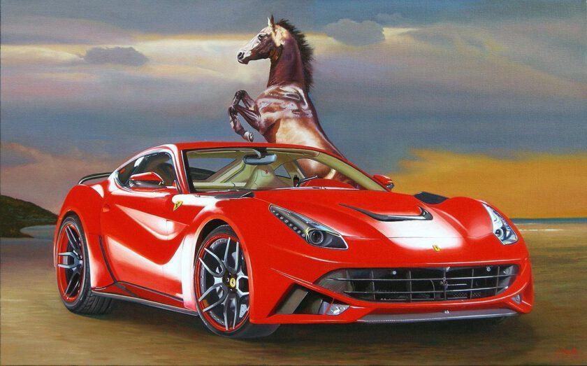 Ferrari F12 by Francesco Capello