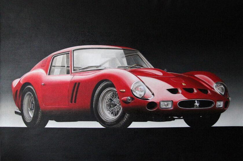 Ferrari Gto by Tommaso Arscone