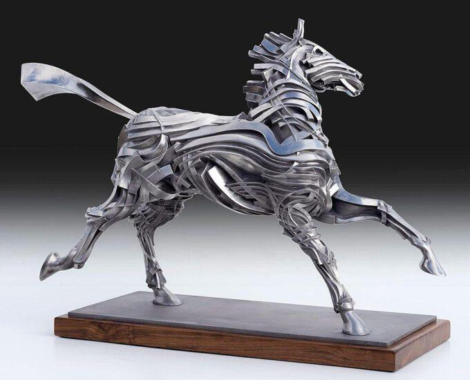 George's Horse by Gil Bruvel