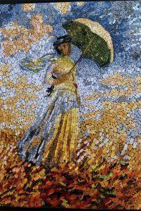 La Femme Avec Le Parasol A TournÉ À Droite by Michela Calasso
