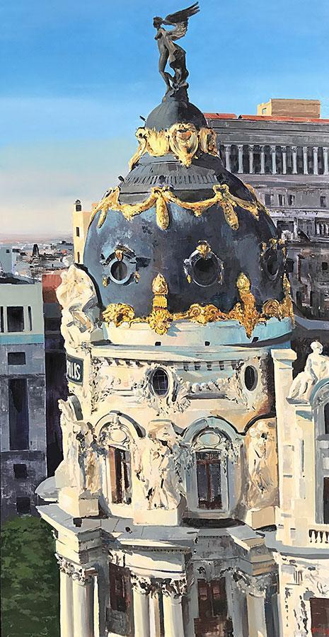 Metropolis by Cristóbal Pérez García