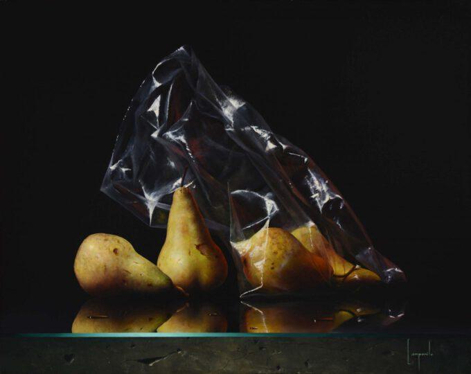 Pears In Plastic by Dario Campanile
