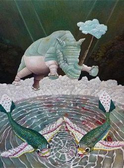 Rhino Giada by Isabelle Lemaitre