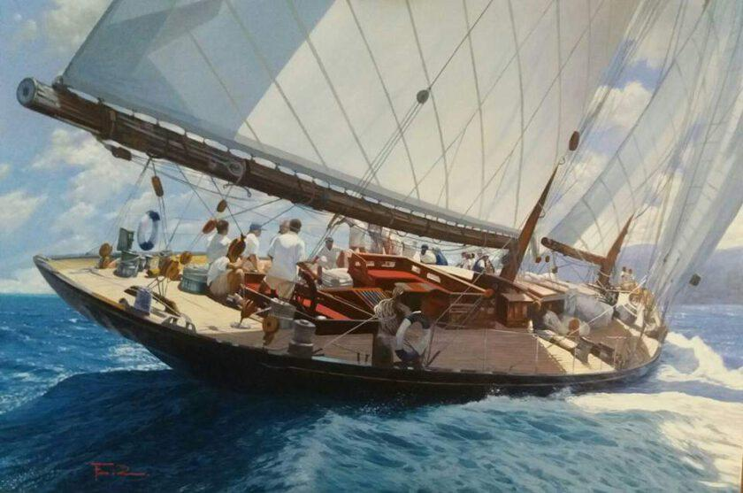 Sail 4 by Raffaele Fiore