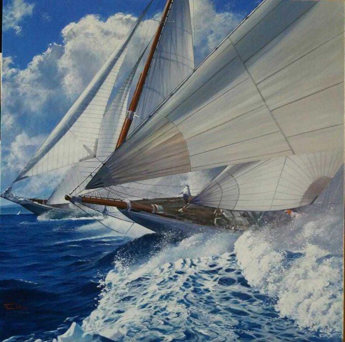 Sail 5 by Raffaele Fiore