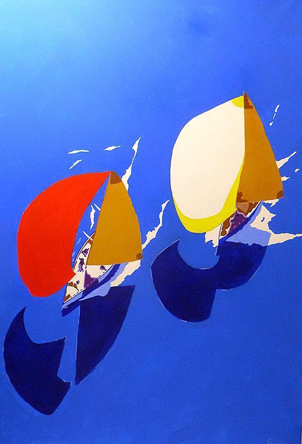 Sailing 10 by Massimo Pennacchini
