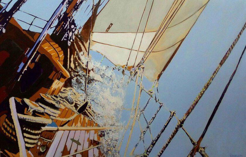 Sailing 120 by Massimo Pennacchini
