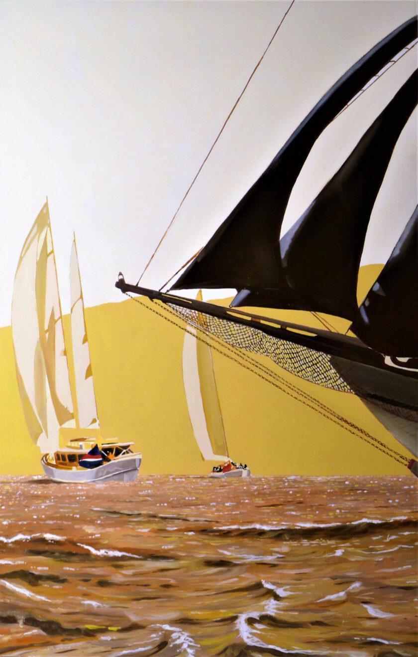 Sailing 130 by Massimo Pennacchini