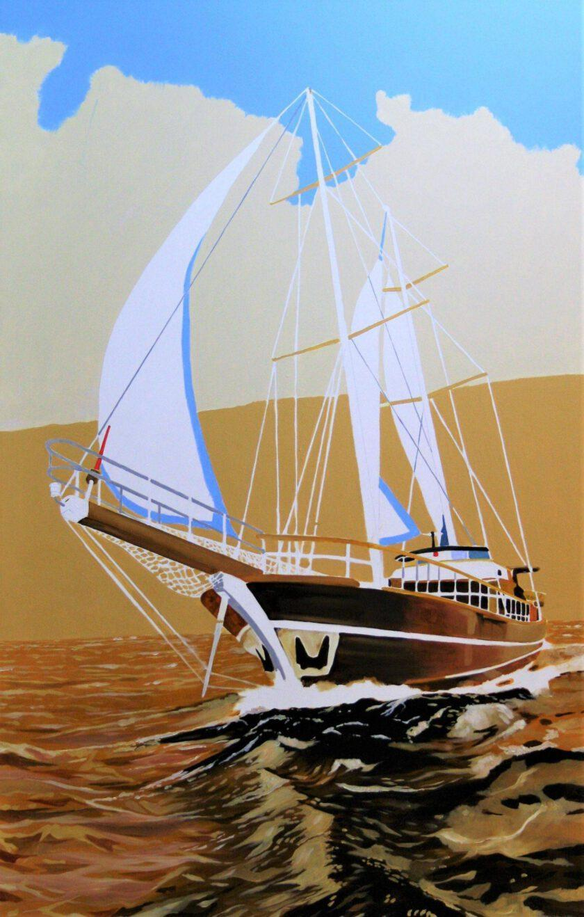 Sailing 131 by Massimo Pennacchini