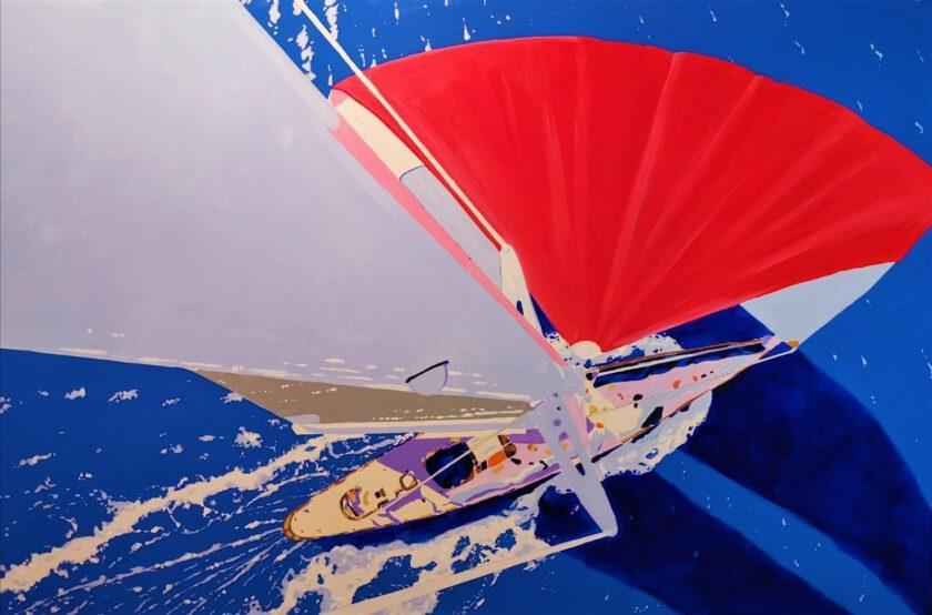 Sailing by Massimo Pennacchini