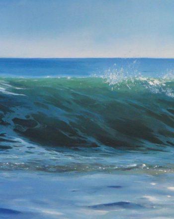 Seascape by Cristóbal Pérez García