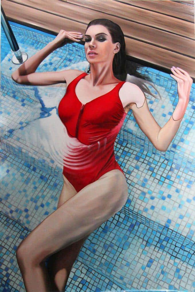 Woman In Pool by Tommaso Arscone