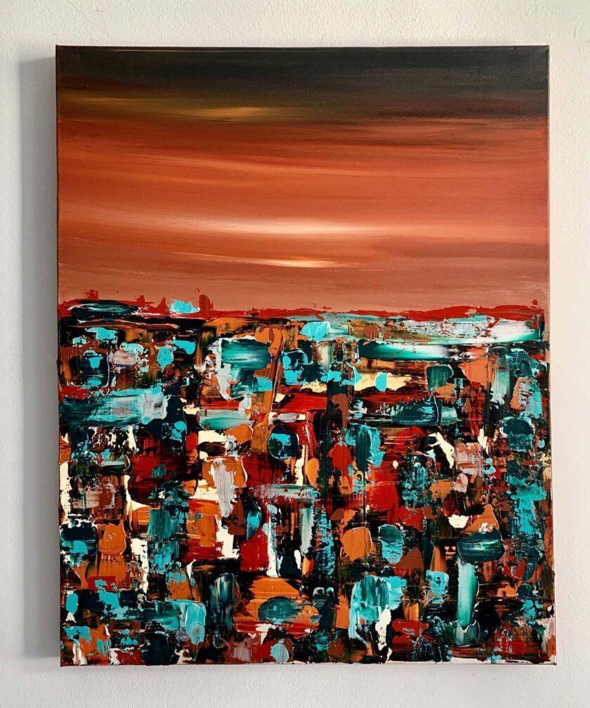 Deep Orange by Lilly LillÀ