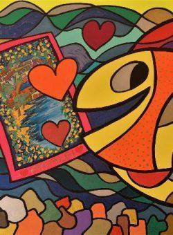 I Love Amalfi by Jack Ottanio