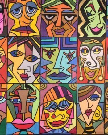 One Hundred Faces by Jack Ottanio