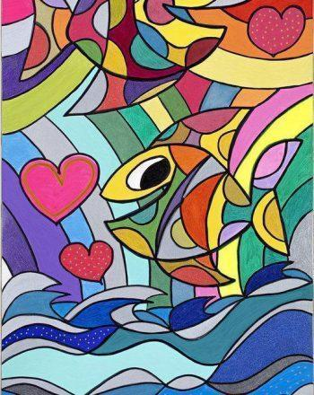 Happy Fishes by Jack Ottanio