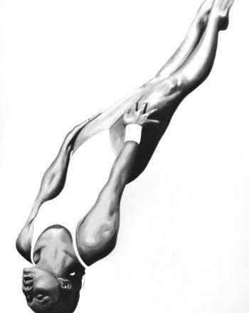 JUMP 100 oil on canvas 80x120cm 2020-H