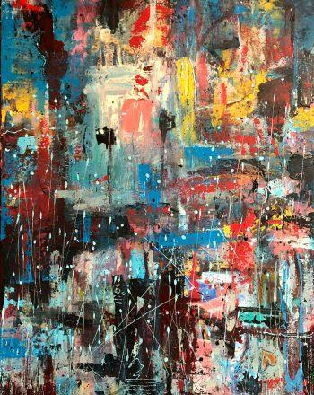 SHMUTZ_Rain_From_Below_2020_Acrylic_On_Canvas_80x60cm_AbstractAr